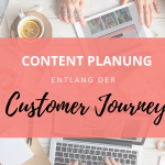Content Planung entlang der Customer Journey